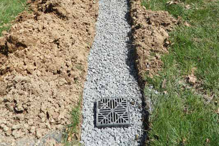 custom drainage solutions